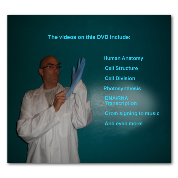Back cover of Making Science Visual - Biology! DVD